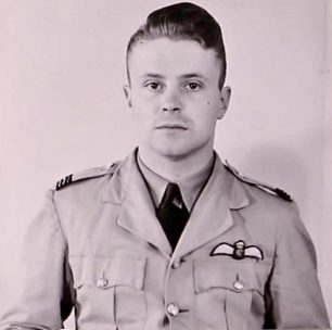 PatrickTerrance O'Leary in August 1941.  | Canadian Service Files.