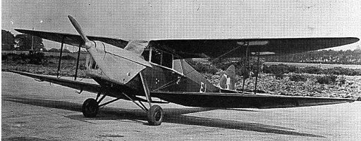 Second prototype de Havilland DH.87A Hornet Moth, May 1935, prior to being registered as G-ADIR.  | British Flight Testing (Tim Mason)