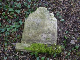 Dora Ball's grave on 4th March, 2021. Sadly, it has fallen into disrepair.  | Friends of Southampton Old Cemetery.