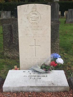 Sgt. Fenemore's grave. Allerton Cemetery, Liverpool. | Gary Saxon