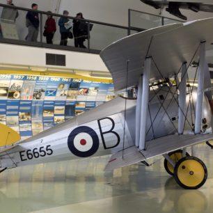 Sopwith Snipe E6655 at the RAF Museum, Hendon. | Oren Rozen