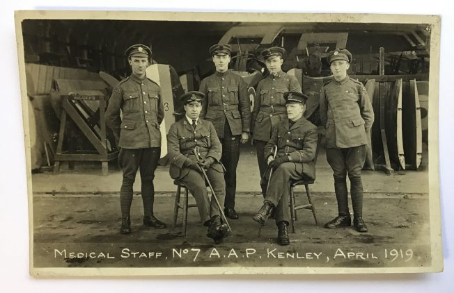Medical Staff. No.7 A.A.P. April 1919.  | Roger Packham