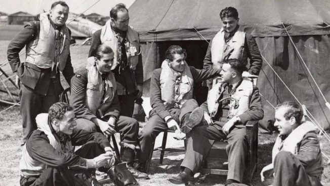 501 Squadron at RAF Hawkinge. | Kent Battle of Britain Museum