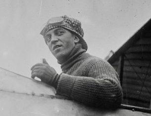 French aviator, Maurice Chevillard, was one of the passengers on the ground-breaking flight to Kenley. | US Library ofCongress ggbain14948