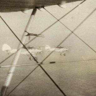 No.615 Squadron Hawker Hectors in flight - William Terence Clark.    Gerry Burke