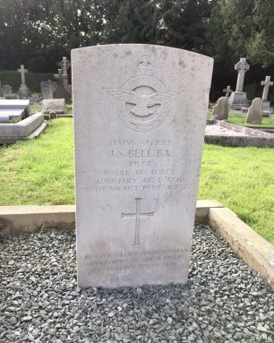 The grave of John Swift Bell, in St. Peter's cemetery, Eastgate, Lincoln.  | Linda Duffield