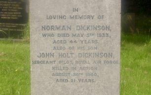Sergeant (Pilot) John Holt Dickinson