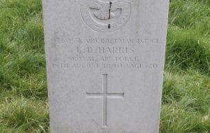 Aircraftman First Class Leslie Barton Harris