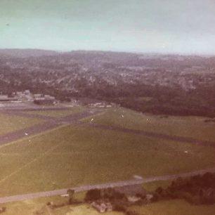 An aerial view of Kenley on 16/6/77.  | Philip John Wickwar