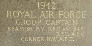 Group Captain Hugh Wolfe Corner AFC MB ChB MD FRCP
