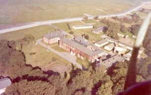 The Officers' Mess from the air - 1971