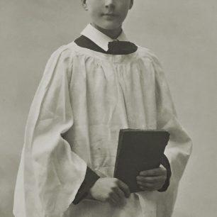 Harold Morley Starr as a choirboy, circa 1915.  | Peter Starr Mills