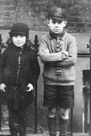 William Charles Stanley Ford, on the right, with his sister Kathleen. | Sue O'Sullivan