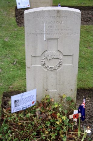 The grave of Sergeant Burke in St. Luke's churchyard, Whyteleafe.  | Linda Duffield