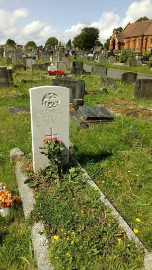 William Battle's grave in Bandon Hill Cemetery. | Marcelle Williams