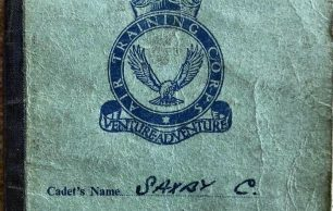 Chris Saxby's ATC Record of Service Book