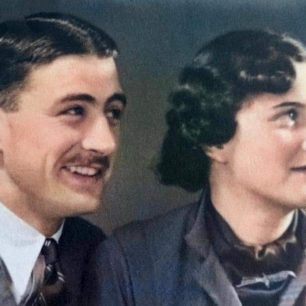 Harold and his wife Bette | Peter Starr Mills