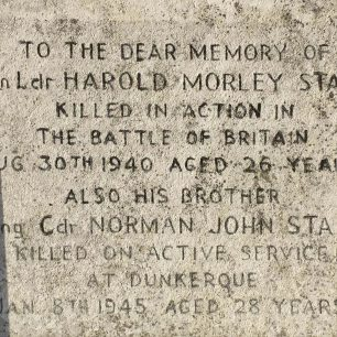 The Starr brothers remembered at Radnor Street Cemetery.  | Vince Reed