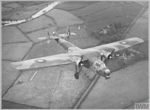 The Bristol Bombay in flight   IWM Online collection (IWM CH 2932). AIRCRAFT OF THE ROYAL AIR FORCE (CH 2932) Original wartime caption: The Bristol Bombay in flight. Copyright: © IWM