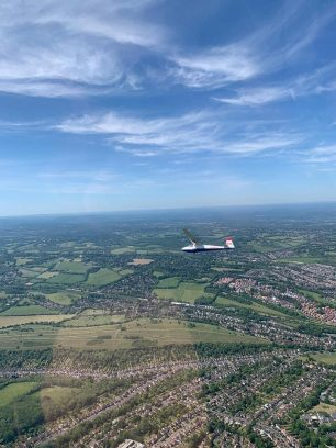Gliders returned to the skies above Kenley on 19th May, 2020, as lockdown measures were eased.  | Don Porter