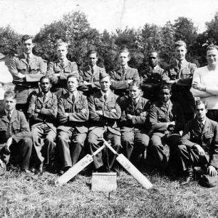 RAF Cricket Team, Kenley 1943.  | Jon Davidson