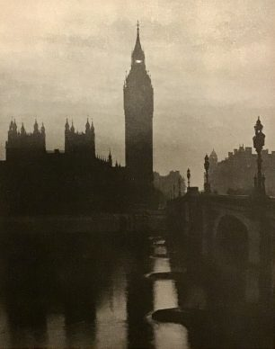 24/4/1945- The lantern surmounting the Click Tower at Westminster shining for the first time in five years, seven months and 23 days. | The Second Great War, No.90
