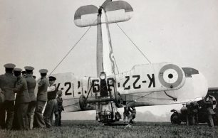 No.17 Squadron Bristol Bulldog crash, 7th May, 1936