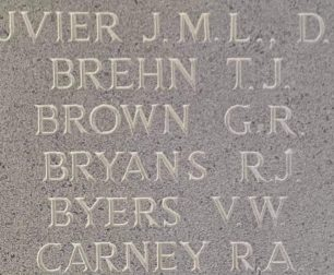 P/O George Rawson Brown remembered on the Runnymede Memorial.  | Jane Collman Williams
