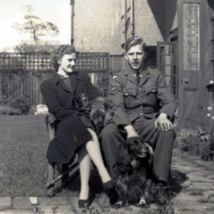 Brian Raymond Wilson and his sister, Doreen, at their Mother's house in Knutsford, Cheshire.  | Jon Davidson