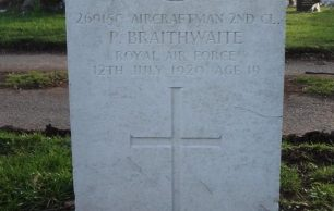 Aircraftman Second Class Percy Braithwaite