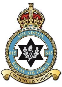 No.615 Squadron Badge