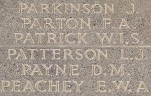 Sergeant Leonard John Patterson