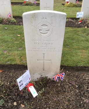 The grave of Sgt. Grove in St. Luke's churchyard, Whyteleafe.  | Linda Duffield