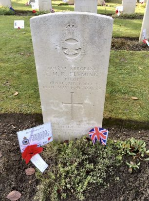 The grave of Sgt. Fleming in St. Luke's churchyard, Whyteleafe.  | Linda Duffield