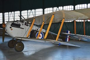 A recreation of a Sopwith Dolphin on display at the RAF Museum, Hendon.  | Alan Wilson
