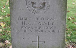 Flight Lieutenant Harold Charles Calvey