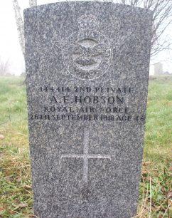 Private 2nd Class Albert Ernest Hobson