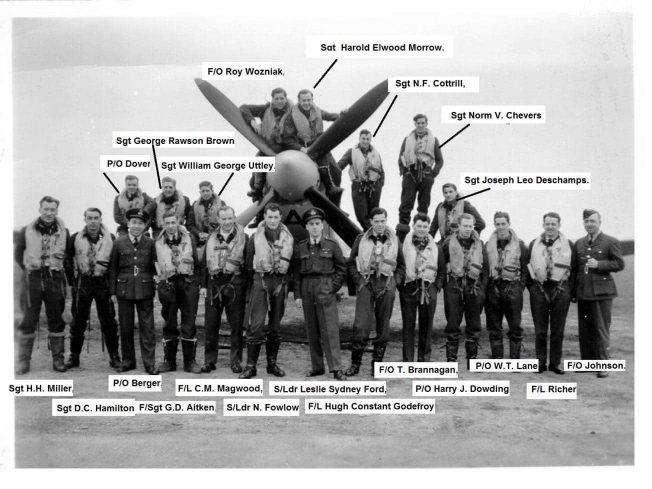 403 Squadron, 21/3/1943. | Pierre Lagace