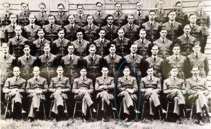 No.2 Flying Training School, Brize Norton, June 1939. Allan Corkett seated in front row.  | Colin Lee