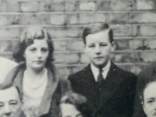 Allan, aged roughly 14, with his sister Honor, around 1931-2.  | Jo Corkett