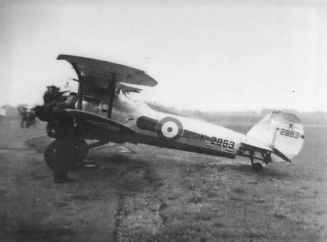 Bristol Bulldog Mk.IIa, K2863.  | Geoff Tait / Robin Grainger