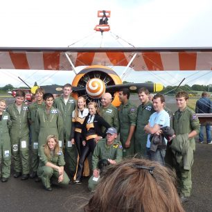 Breitling Wingwalkers - Boeing PT-17 Stearman with 615 VGS   Neil Broughton