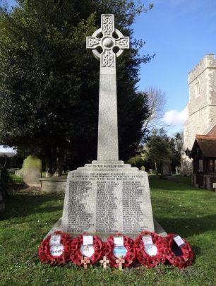 Harlington War Memorial, Middlesex.  | A. Goble (War Memorials Online)