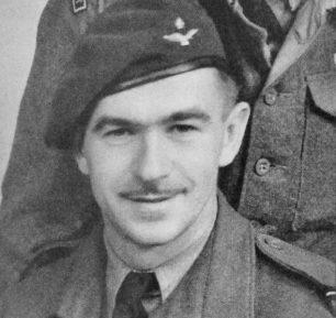 D. G. Roberts as a Flying Officer   RAF Regiment Heritage Centre