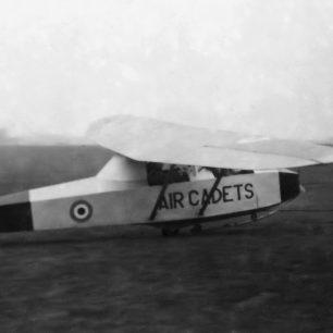 Kirby Cadet XN243 at RAF Kenley 1963.