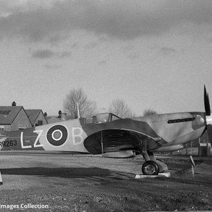 Spitfire Mk.XVIe, RR263. 1966.  | Bill Fisher