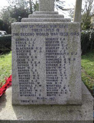 Harlington War Memorial, Middlesex. | A. Goble (War Memorials Online