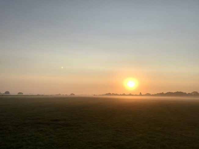 Sunrise at Kenley, 15/09/2020.  | Linda Duffield
