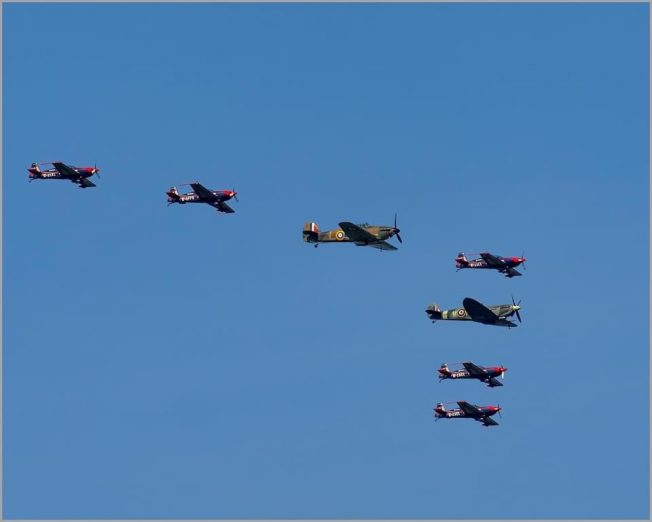 Battle of Britain Day Flypast | Michael Bromley
