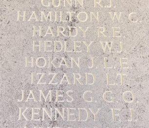 F/O Hokan remembered on the Runnymede Memorial. | Linda Duffield